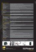 Alta risoluzione - Roland Italy SpA - Page 4