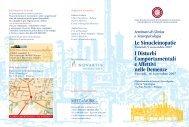 Programma (pdf) - Policlinico S.Orsola-Malpighi