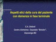 Le cure delle persone con demenza in fase terminale - Eurac ...