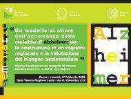 Valutati - Agenzia di Sanità Pubblica della Regione Lazio