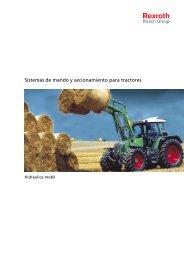 Sistemas de mando y accionamiento para tractores - Bosch Rexroth