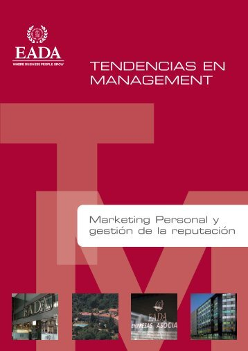 Marketing Personal - Eada