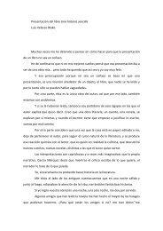 Presentación del libro Una historia sencilla Luis Velasco Blake ...