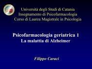 I Disturbi Comportamentali e Psichici nella Demenza - Scienze della ...