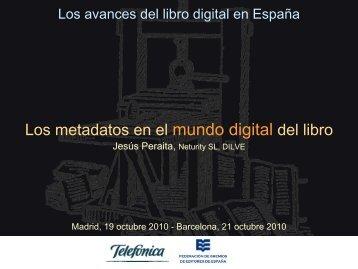 Los metadatos en el mundo digital del libro - Gremi d'Editors de ...
