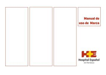 Manual de uso de Marca - Hospital Español