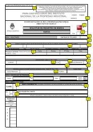 Solicitud de Registro de Marca - Instituto Nacional de la Propiedad ...