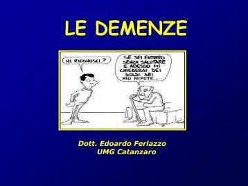 LE DEMENZE