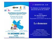 Le demenze - Italian Hospital Group