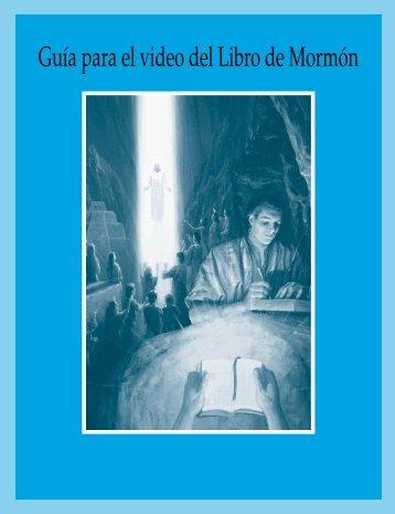 Guía para el video del Libro de Mormón (SEI)