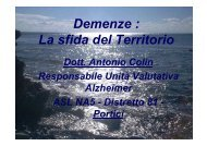 Demenze : La sfida del Territorio - Medici per San Ciro