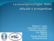 Aspetti nosografici e neuropsicologici delle demenze non-Alzheimer
