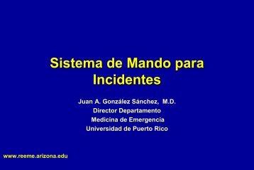 Sistema de Mando para Incidentes - Red Proteger