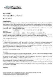 Diplomado Gerencia de Marca y Producto - Neo