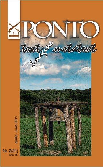 Nr. 2 (31) anul IX / aprilie-iunie 2011 - ROMDIDAC