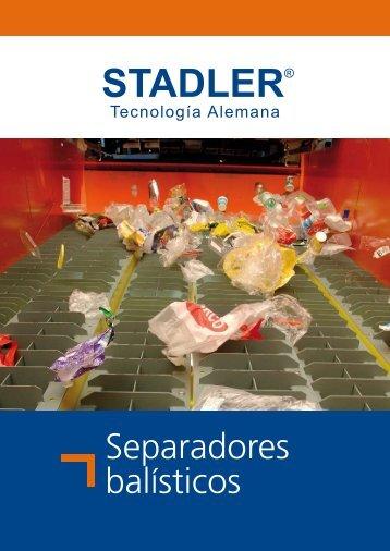 Separadores balísticos - Stadler Anlagenbau