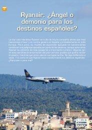 Ryanair: ¿Ángel o demonio para los destinos ... - Hosteltur.com