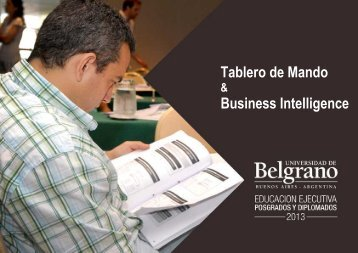 Tablero de Mando & Business Intelligence - Universidad de Belgrano