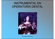 Instrumental Cortante de Mano para Odontología Operatoria