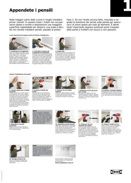 Montaggio Cucina Fai Da Te Pdf 115mb Ikea
