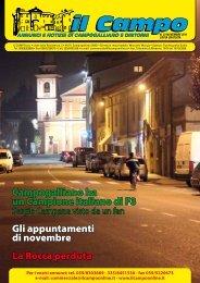 Numero 23 Novembre 2011 - Il Campo