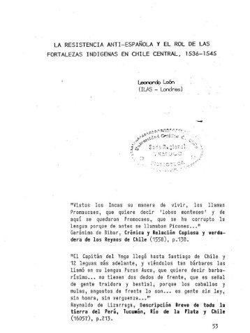 Gerónimo de Bibar, Crónica y Relación Copiosa y verda- dera de ...