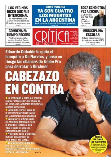 ya son cuatro los muertos en la argentina - Winisisonline.com.ar