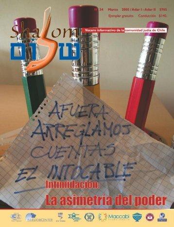 Marzo - Revista Shalom