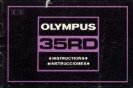 Olympus 35RD Instructions 0176 - Olympus OM System Information ...