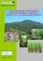 classificazione di popolamenti forestali dell - Ambiente - Regione ...