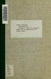 Lettere e versi di Torquato Tasso che si pubblicano la prima volta ...