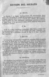 RICORDI DEL SOLDATO ' - Cime e Trincee