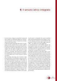 Il servizio idrico integrato [PDF] - Agenzia per il controllo e la qualità ...