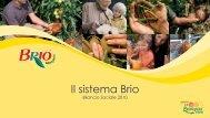 Bilancio Sociale - Brio Spa