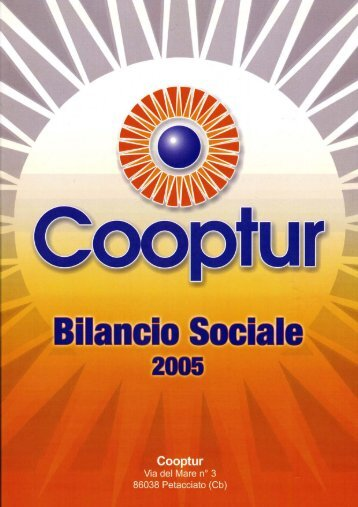 Bilancio Sociale 2005 - Legacoop