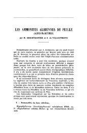 les ammonites albiennes de peille - Revue de géologie alpine