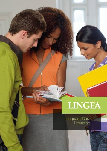Language Data Licensing - lingea.com