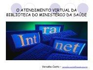 atendimento virtual - BVS Ministério da Saúde