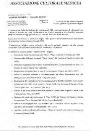 presentazione Ass.ne Medicea - Comune di Empoli