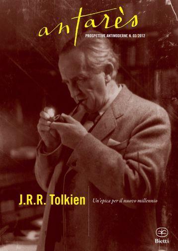 J.R.R. Tolkien Un'epica per il nuovo millennio - Antarès, Prospettive ...