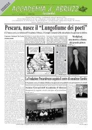 "Pescara, nasce il ""Lungofiume dei poeti"""