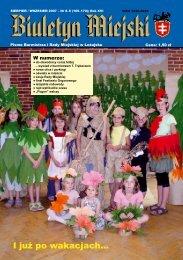 sierpień/wrzesień'07: bm892007.pdf - Leżajsk