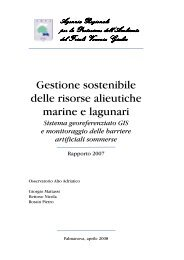 Gestione sostenibile delle risorse alieutiche marine e lagunari