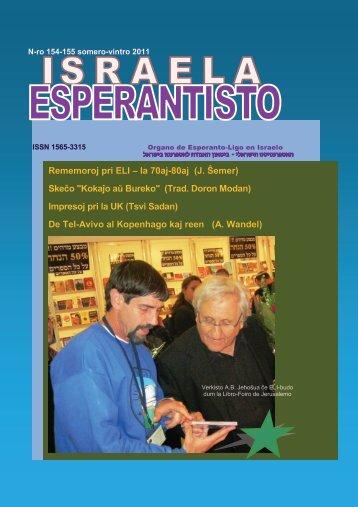 154-155 - Esperanto-Ligo en Israelo