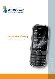 Mobile Zeiterfassung - WinWorker