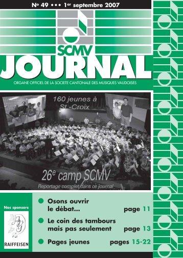 N° 49 - Société Cantonale des Musiques Vaudoises