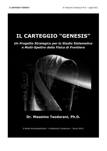 "IL CARTEGGIO ""GENESIS"" - PROJECTUAP-ITALIA index"