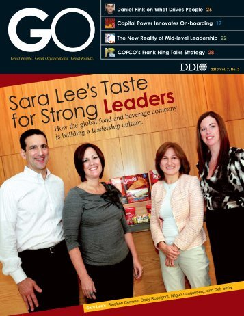 GO Magazine Fall 2010 (PDF) - DDI