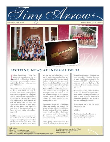 exciting news at indiana delta - Pi Beta Phi
