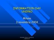 Il futuro degli ingredienti cosmetici nella strategia comunitaria - Unipro